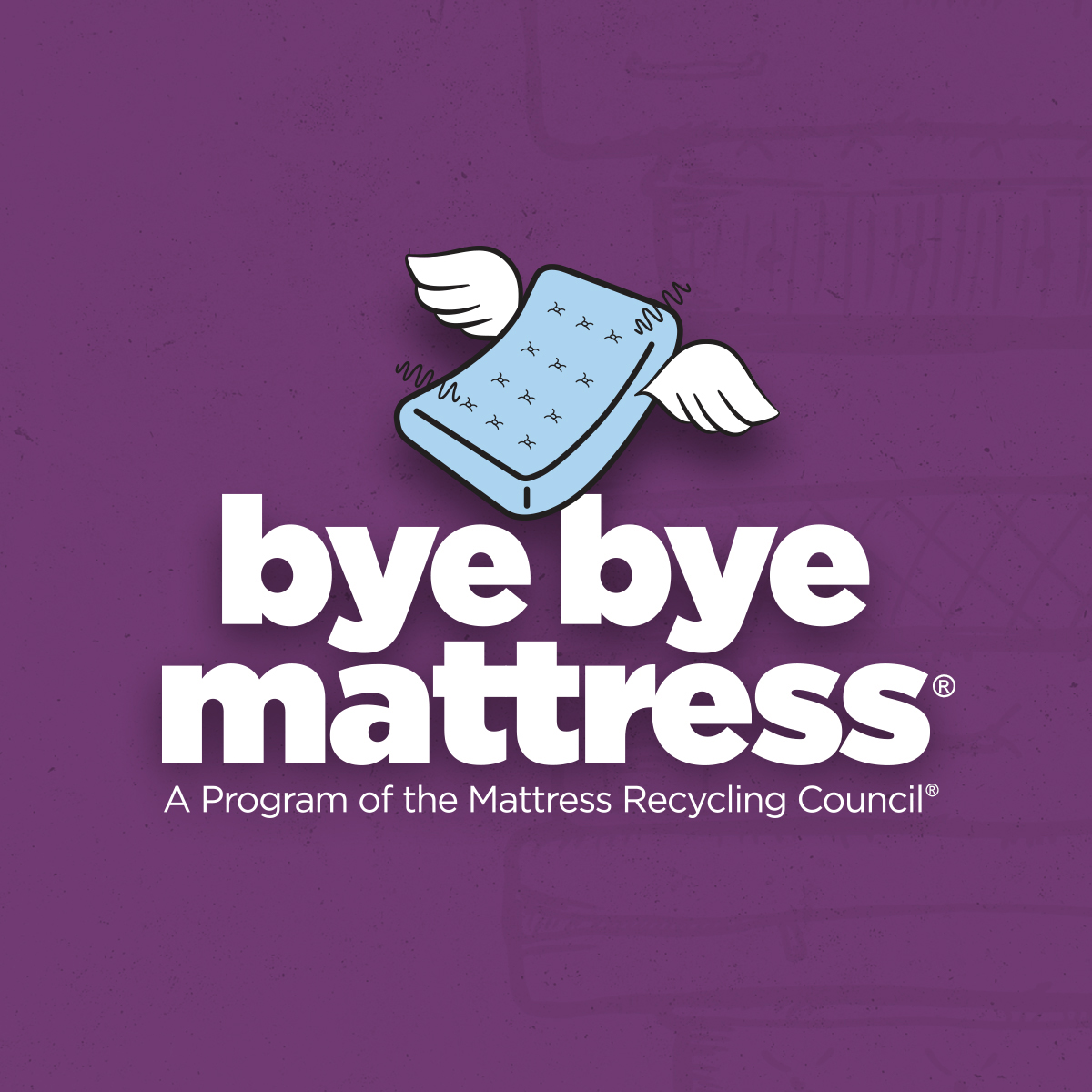 home bye bye mattress a program of the mattress recycling council